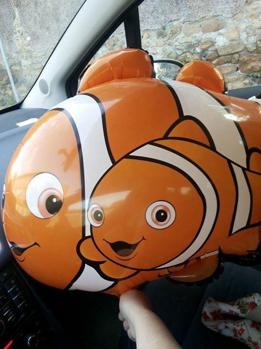 Quei due palloncini - Nemo accanto al fratellino [http://lascrivania.com/2014/09/12/quei-due-palloncini/]