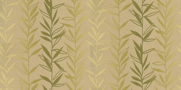 Salix (NCW4021-01) - Nina Campbell Wallpapers - A willow stripe with an ombré effect