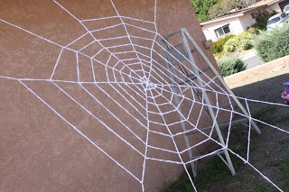 delicateCONSTRUCTION: Outdoor Spider Web