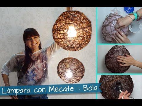 Chuladas Creativas Lamparas R 250 Sticas Con Mecates