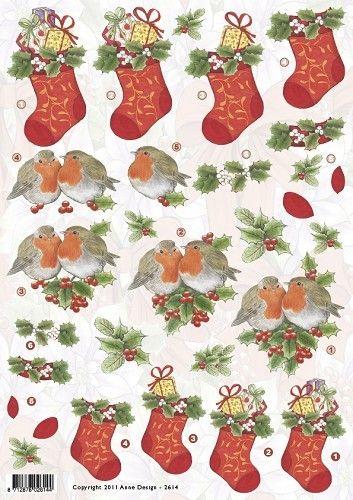 Anne Design 2614 Kerstsok