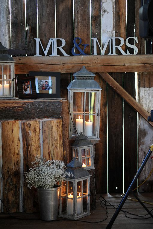 This looked like the kind of thing that you would use at a winery.  ;)  xo  barn wedding ideas for you @Megan Ward Ward Ward Ward Ward Ward Ward Johnson :)