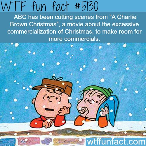 A Charlie Brown Christmas - WTF fun facts