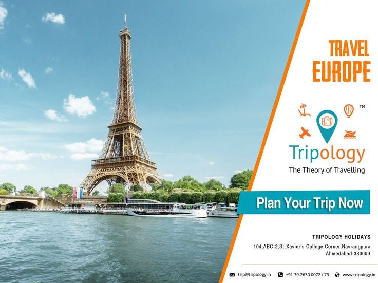 Plan your trip to Europe with Tripology Holidays. For more information visit our website: www.tripology.in  Or Call Us @: +91 9879323111 #Tripology #Holidays #Europe #Tour #Packages #Travel
