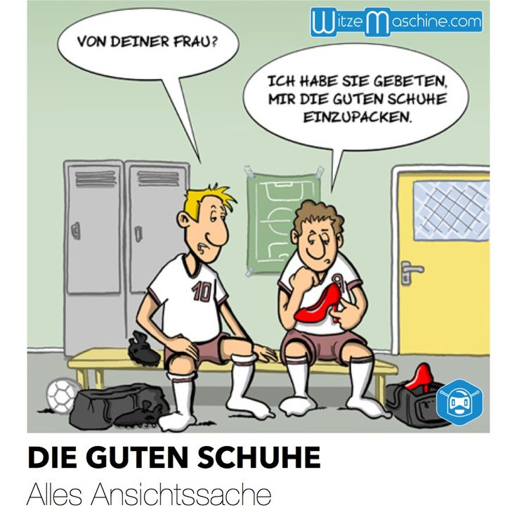 Fussball witze frauenschuhe witzemaschine barry007 - Pinterest witze ...