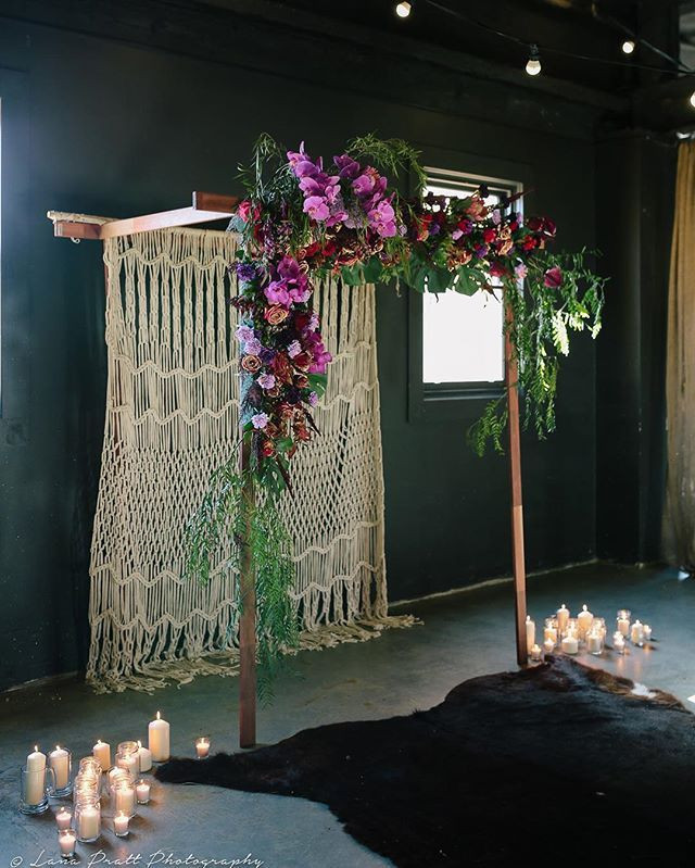 // August 13 & 14  Our #FremantleBoHo #Ceremony Setup #Styling and #Blooms…