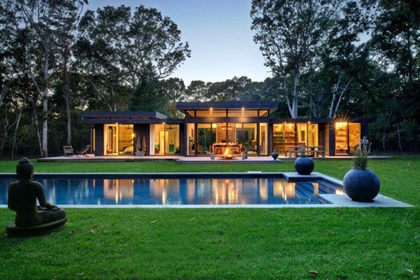 Weekend Retreat Disclosing Smart Design Ideas: The Robins Way Residence