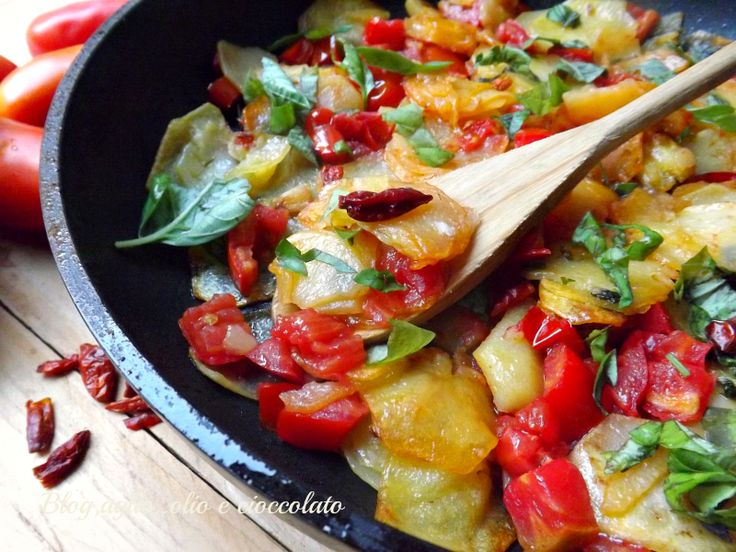 Patate all'Arrabbiata