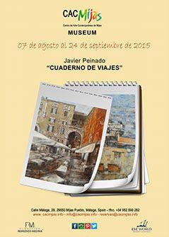 """Javier Peinado """"Cuaderno de viajes"""""""