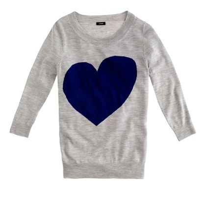 Tippi sweater in heart me: Heart Sweaters, Graphics Sweaters, Dreams Closet, J Crew, Fashion Trends, Fall Trends, Jcrew, Tippi Sweaters, Crew Tippi