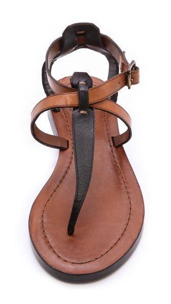 Strappy sandals by frye