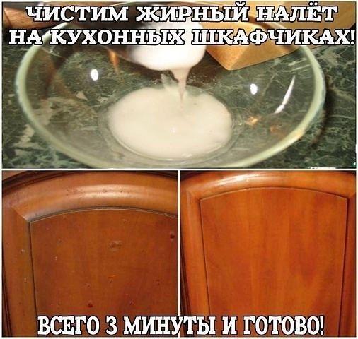 Как легко отчистить кухню от жирного налета 0