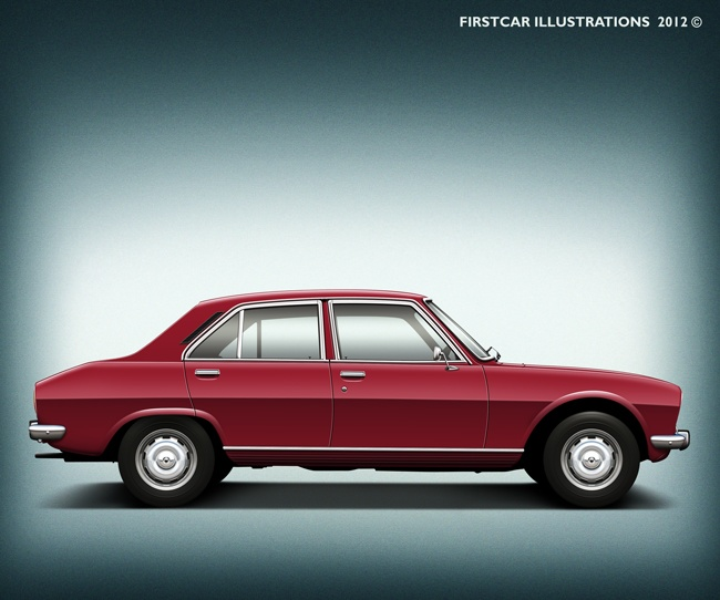 PEUGEOT 504 - I really loved driving this car. Service was a pain, though.