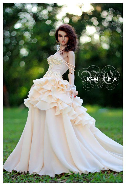 NiGelChiA A Fashion Design Victim The Pastel Wedding