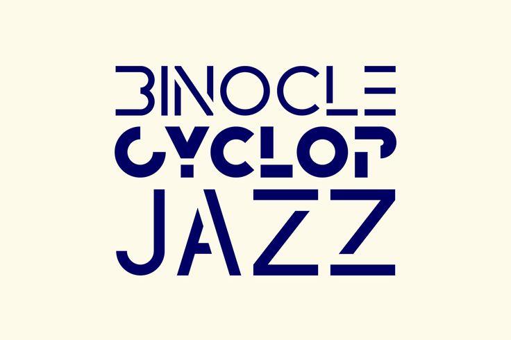 Le monocle a été créé spécialement pour l'association Cyclop Jazz Action. Construit sur une base simple et modulaire, il se déconstruit en laissant apparaître des blancs tel une partition musical entre le son et le silence.