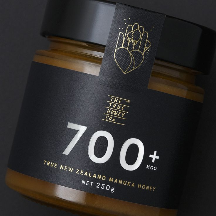 The True Honey Co.: True New Zealand Manuka Honey branding and packaging / by Marx Design Ltd