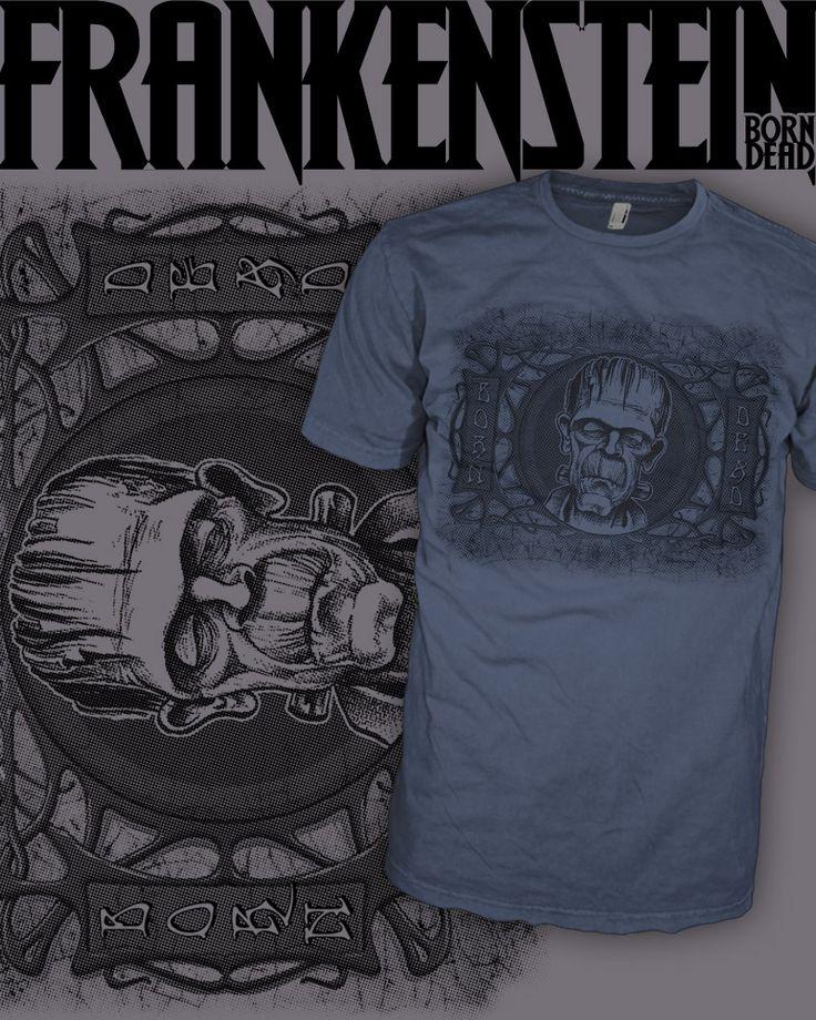 http://www.hipsoul.com/vintage-electric-frankenstein-cool-punk-hard-rock-t-shirt-p159c3