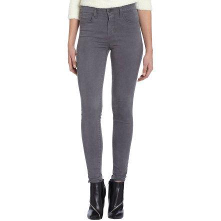 J Brand Maria High Rise Skinny Leg at Barneys.com