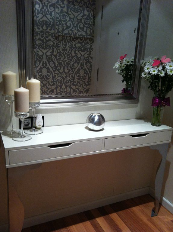 10 best ekby alex ikea images on pinterest vanity for Ikea hall table