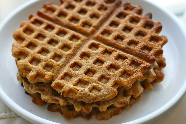 Whole Wheat Sourdough Waffles | Edible Creations and Kitchen Accessor ...