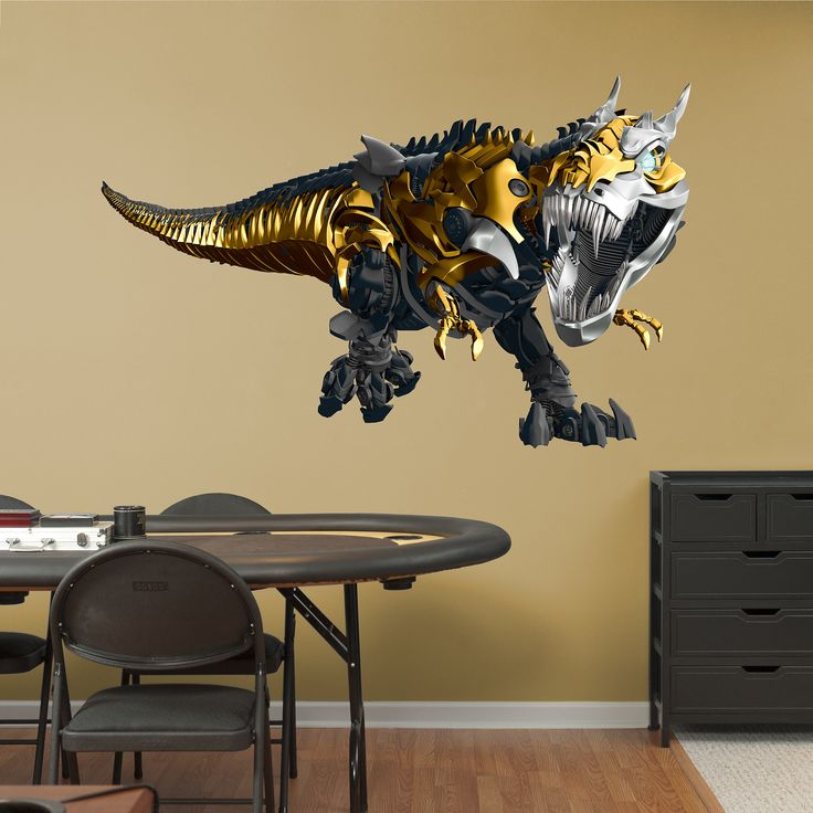 Grimlock - Age of Extinction REAL.BIG. Fathead Wall Decal | Transformers  Wall Decal