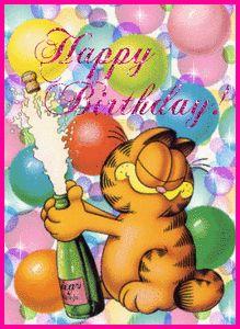 Doğum Günü e Kartları Hareketli - doğum günü kartları   Renkli Duvar