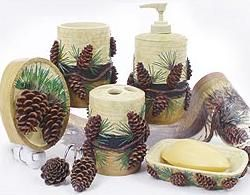 1000 Images About Pine Cone Bathroom On Pinterest
