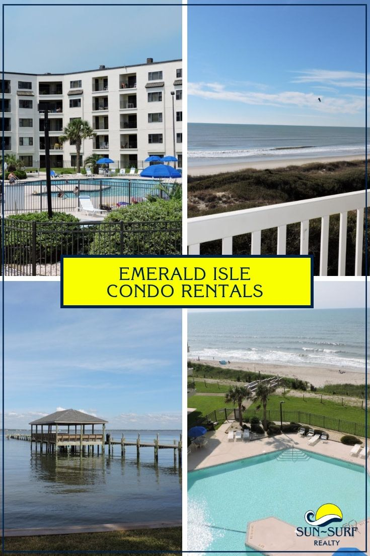 If Condos Are Your Style Then Check Out These Amazing Condo Rentals Available On Emerald Isle Condo Rental Vacation Condo