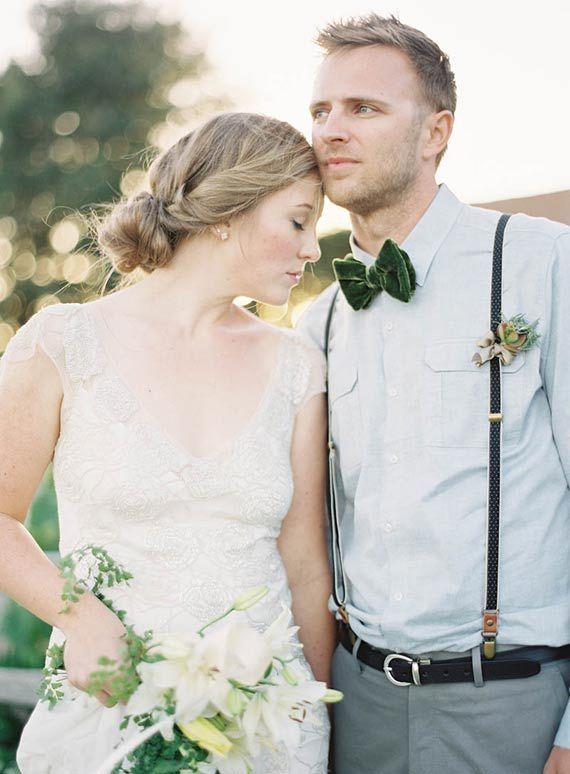 Velvety Green Wedding Inspiration Shoot from Jen Huang's Workshop