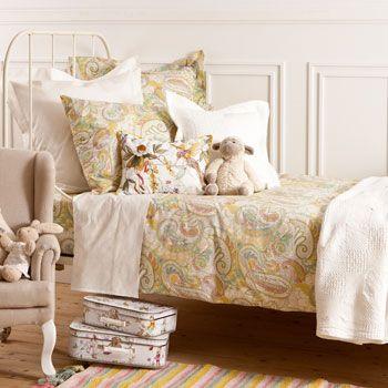 Multicoloured bedding; ZARA home