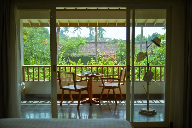 The Open House Bali - the room terrace