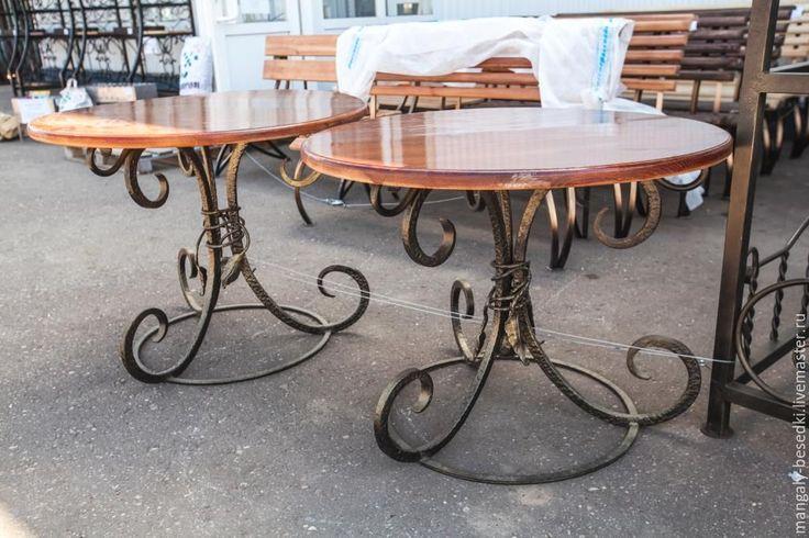 Купить Кованый стол - Кованый, кованые изделия, кованая мебель, стол, недорого, красивый, для дачи