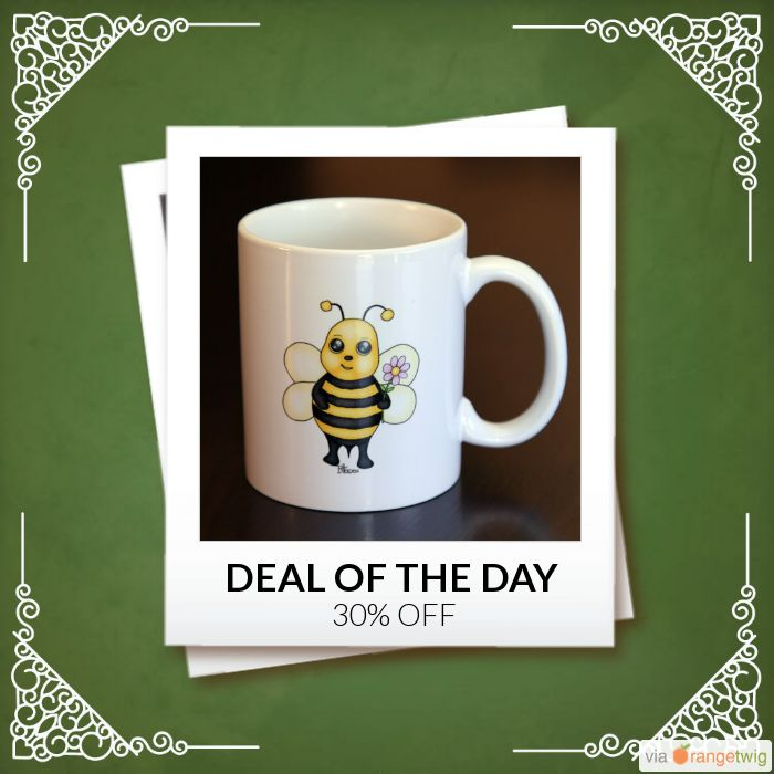 Today Only! 30% OFF this item.  Follow us on Pinterest to be the first to see our exciting Daily Deals. Today's Product: Sale -  Baby Bee Coffee Mug Buy now: https://small.bz/AAgndGI #etsy #etsyseller #etsyshop #etsylove #etsyfinds #etsygifts #musthave #loveit #instacool #shop #shopping #onlineshopping #instashop #instagood #instafollow #photooftheday #picoftheday #love #OTstores #smallbiz #sale #dailydeal #dealoftheday #todayonly #instadaily #instasale