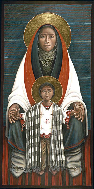 JOHN GIULIANI, Hopi Madonna Child