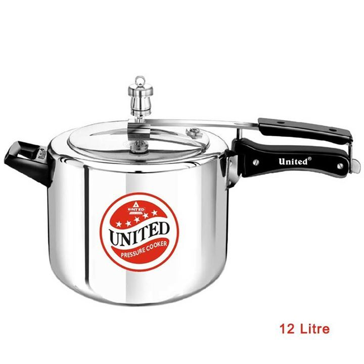 #Pressure #Cookers > #Regular #Aluminium #Inner #Lid #Pressure #Cooker > 12 Litre #Regular #Aluminium #Inner #Lid #Pressure #Cooker - By #United #Pressure #Cooker - For More Info Visit At -http://goo.gl/fnkAQr