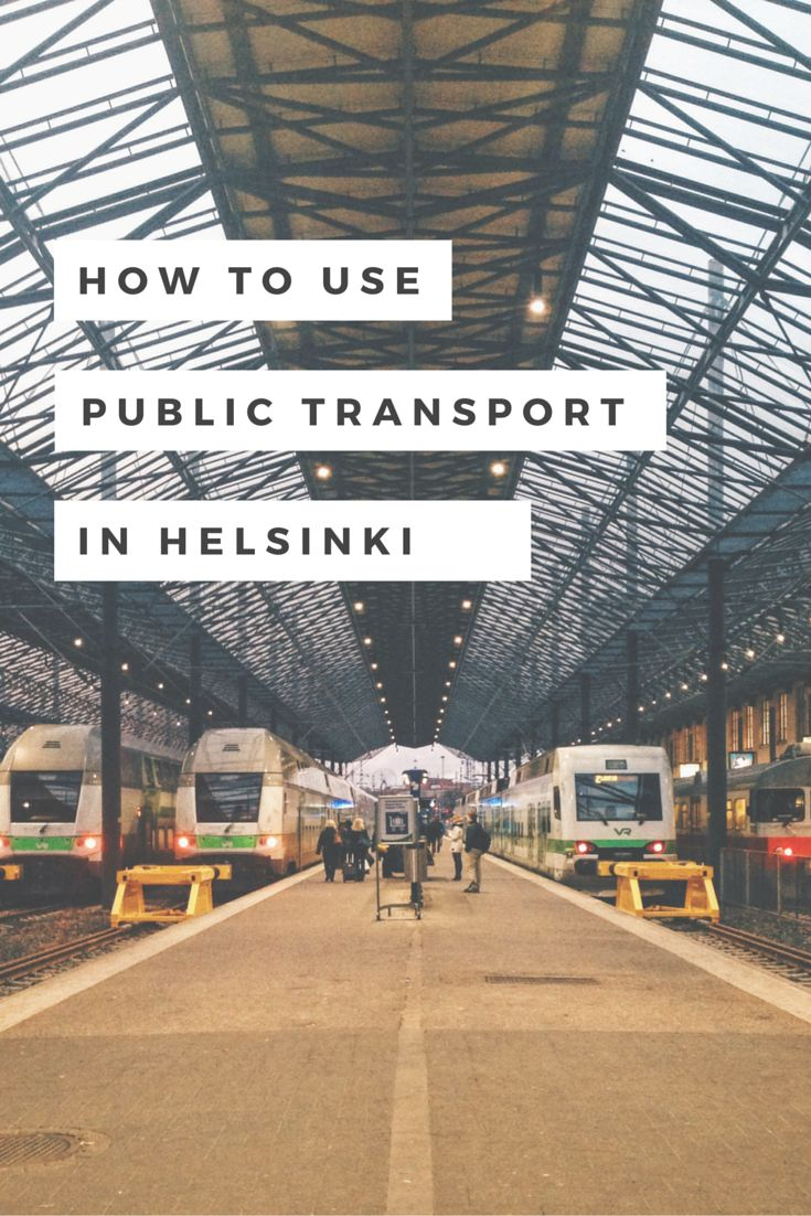 Easy to follow tips so you can use Helsinki's awesome public transport like a pro!
