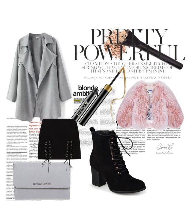 """""""pink and grey"""" by enjalundin on Polyvore featuring Florence Bridge, Michael Kors and Journee Collection"""