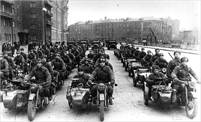 WW2 Soviet bikes