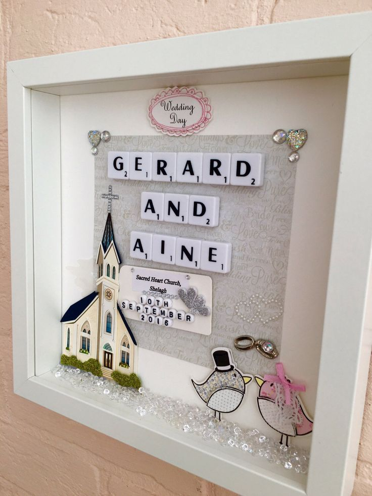 personalised wedding gift wedding couple name frame wedding scrabble frame wedding keepsake frame