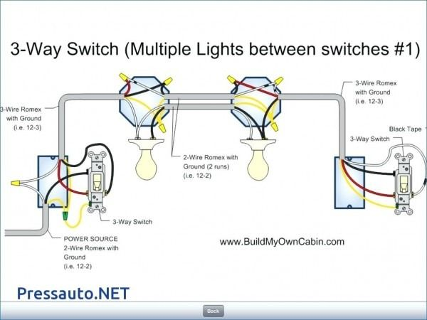 3 way multiple light wiring diagram  dual relay wiring