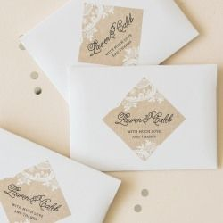 Our personalized mini oval labels are perfect for personalized party favors, invitations and thank you cards.