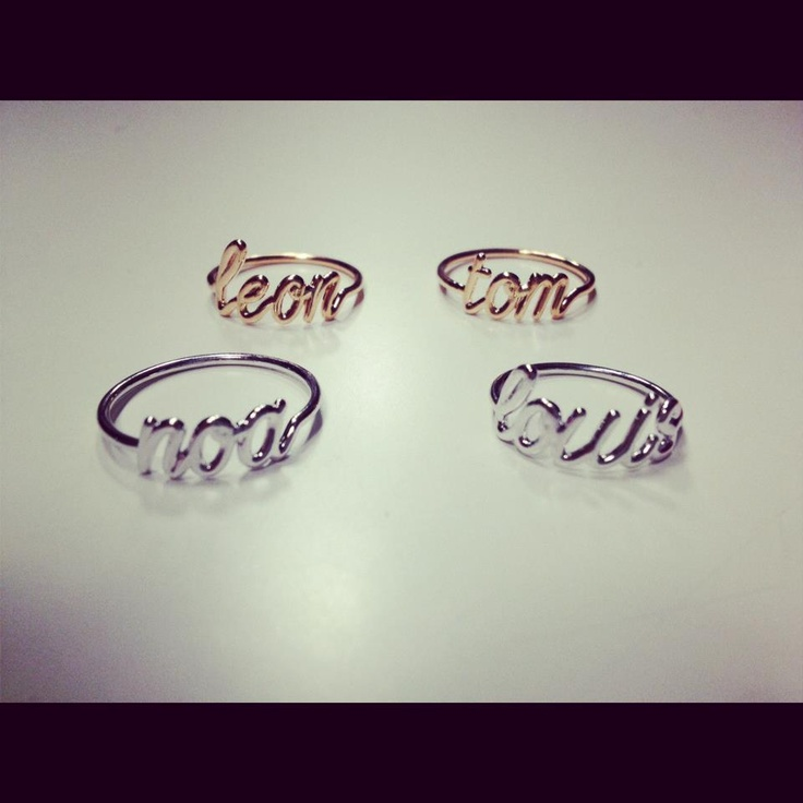 Thea present : The boys band of the day!  www.thea-jewelry.com