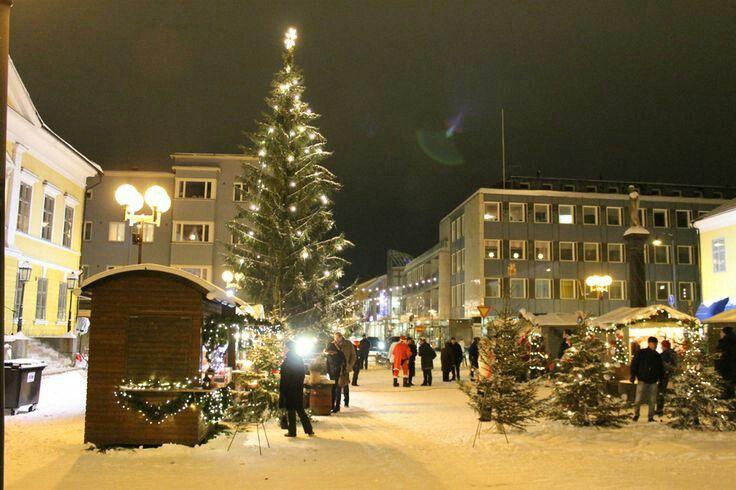 Joulumarkkinat, Mannerheimin aukio, Kokkola