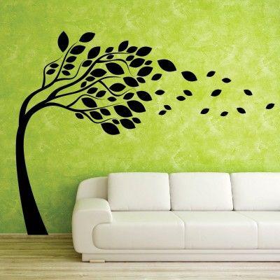 """Adesivo Murale - Via Col Vento, per dare un po' di freschezza alla vostra casa.  Adesivo murale di alta qualità con pellicola opaca di facile installazione. Lo sticker si può applicare su qualsiasi superficie liscia: muro, vetro, legno e plastica.  L'adesivo murale """"Via Col Vento"""" è ideale per decorare il vostro soggiorno o la vostra camera da letto. Adesivi Murali."""