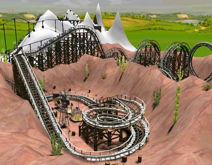255 best images about rct3 on pinterest parks disney s for Coaster design ideas