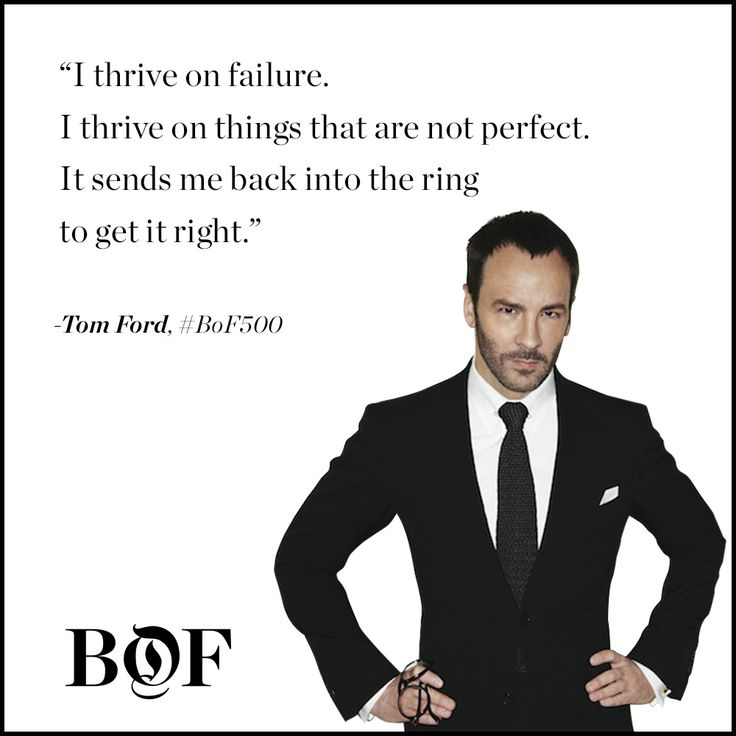 Tom Ford, as featured in the BoF exclusive, The Business of Being Tom Ford