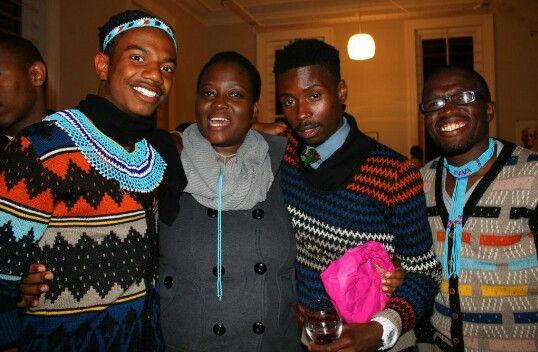 Lelethu Mahambehlala, Bongeziwe Mabandla, Bantu Mtshiselwa.   Photo by: Ntsika Tyatya