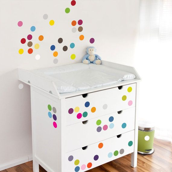 TO DECORATE (Lhasa color dots decal / Maryline Lambelin)