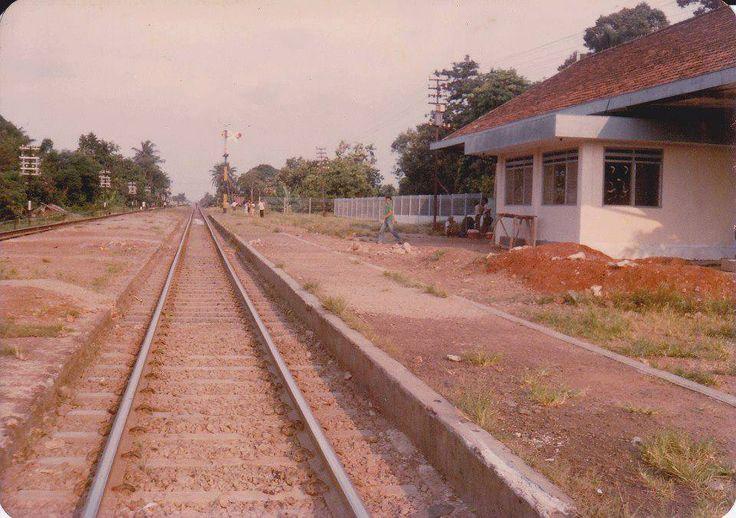 Stasiun Bekasi tahun 1988