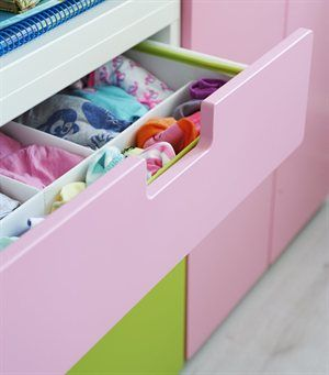 sort and separate #ikea drawer storage
